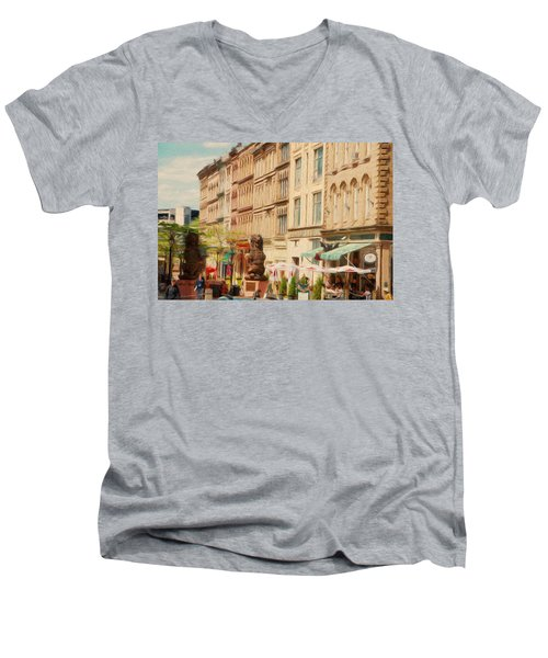 Springtime In Halifax Men's V-Neck T-Shirt