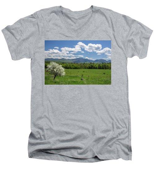 Springtime In Sugar Hill Men's V-Neck T-Shirt