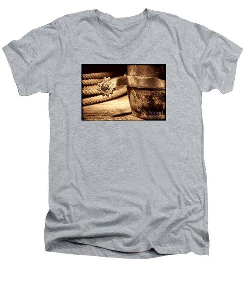 Spur Men's V-Neck T-Shirt