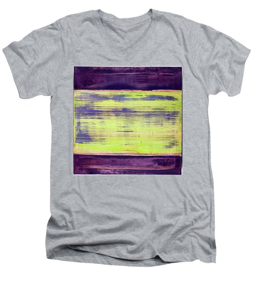 Art Print Square5 Men's V-Neck T-Shirt