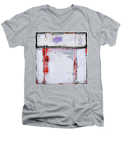 Art Print Square6 Men's V-Neck T-Shirt