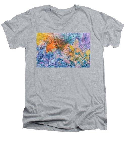 Squirrel Hollow Men's V-Neck T-Shirt