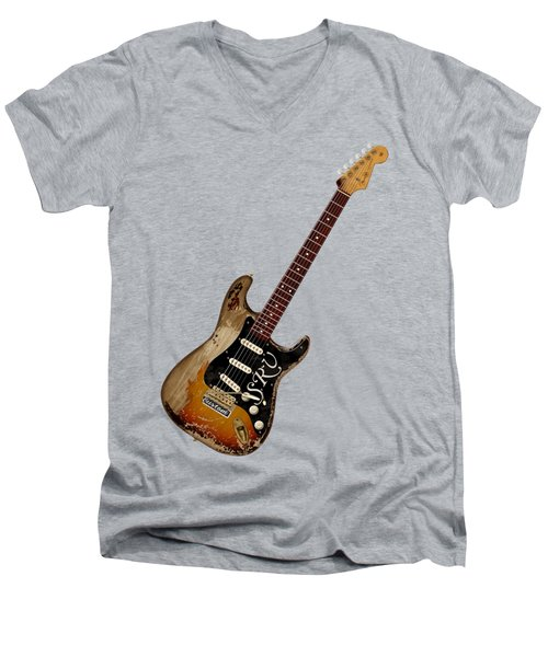 Srv Number One Men's V-Neck T-Shirt by WB Johnston