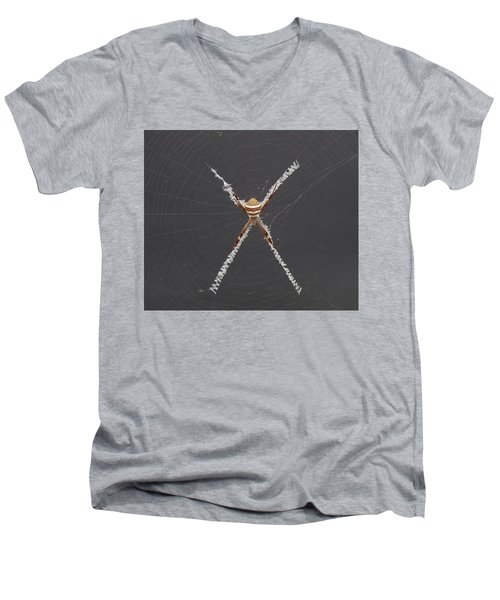 St. Andrews Cross Men's V-Neck T-Shirt