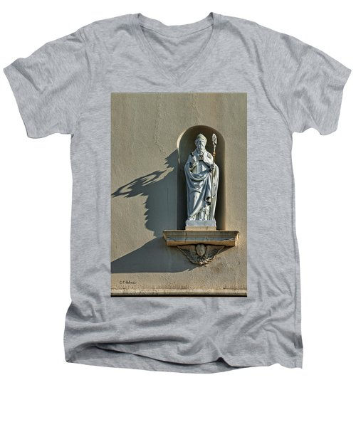 St. Augustine Of Hippo Men's V-Neck T-Shirt