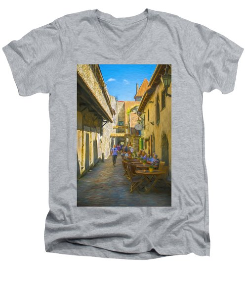 St. Catherine's Passage Men's V-Neck T-Shirt
