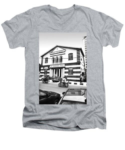 St. Georges Hall, Broad Street Men's V-Neck T-Shirt