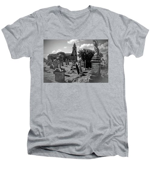St Georges Angel Men's V-Neck T-Shirt