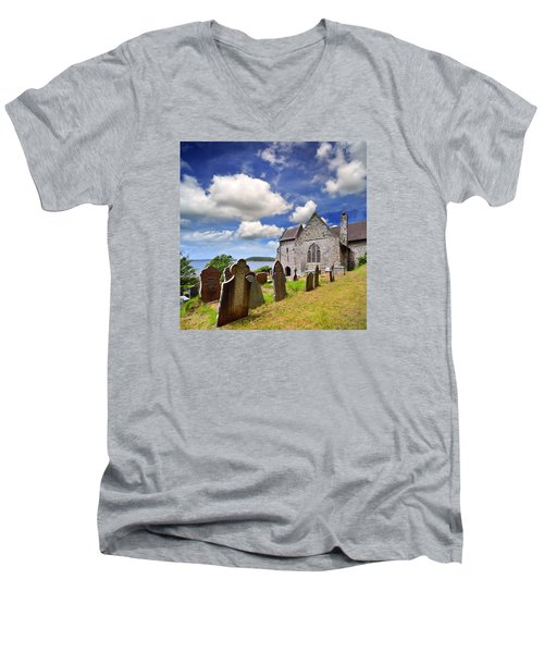 St Ishmael's Church Men's V-Neck T-Shirt