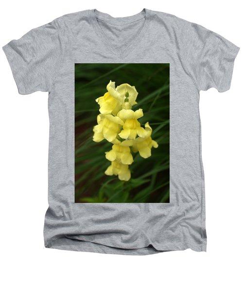 St. Johns Flower 866 Men's V-Neck T-Shirt