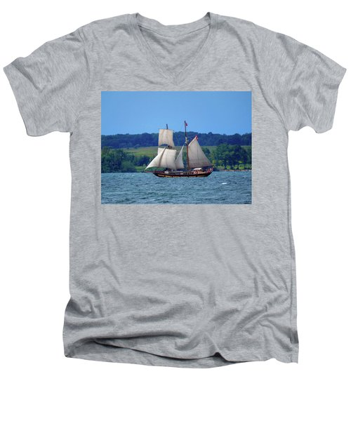 St. Lawrence II  Men's V-Neck T-Shirt