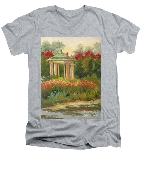 St. Louis Muny Bandstand Men's V-Neck T-Shirt