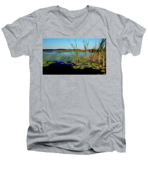 St. Mark's Lake Men's V-Neck T-Shirt
