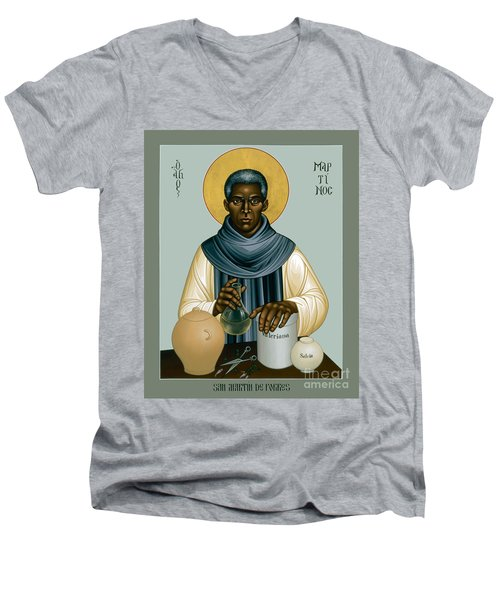 St. Martin De Porres - Rlmpc Men's V-Neck T-Shirt