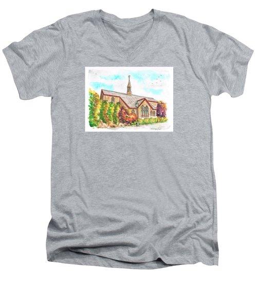 St. Mary's Catholic Church, Brighton, Utah Men's V-Neck T-Shirt