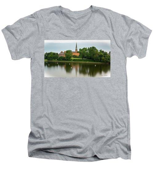 St Mary's Men's V-Neck T-Shirt