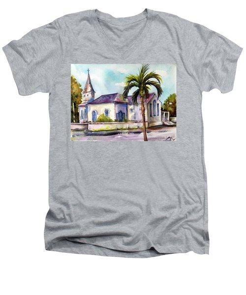 St. Matthews Church, Nassau Men's V-Neck T-Shirt