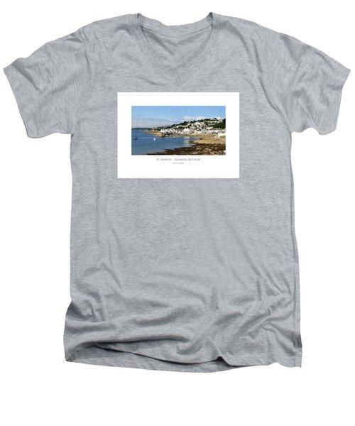 St Mawes - Summer Retreat Men's V-Neck T-Shirt