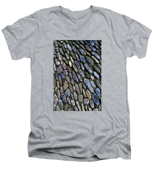St Michael's Path Men's V-Neck T-Shirt