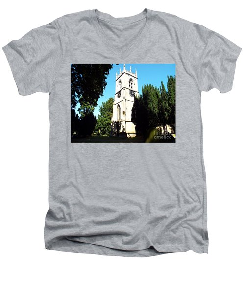 St. Michael's,rossington Men's V-Neck T-Shirt