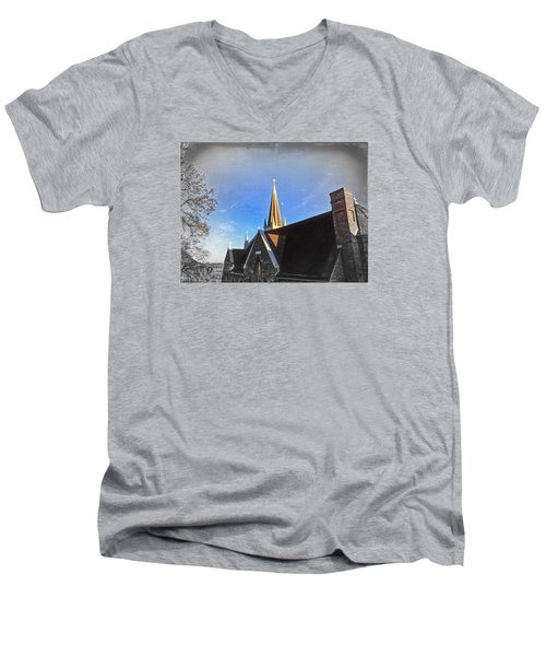 St. Peter's Spire Men's V-Neck T-Shirt