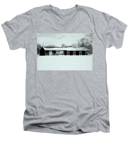 Stables Men's V-Neck T-Shirt