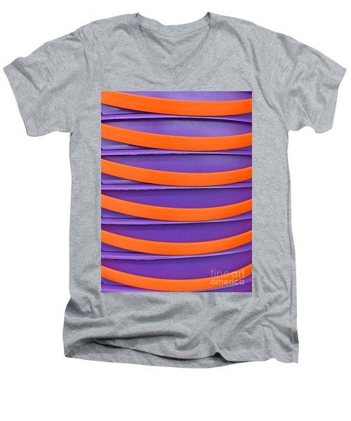 Stacked Men's V-Neck T-Shirt