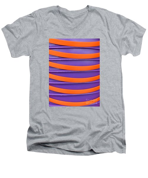 Stacked Men's V-Neck T-Shirt