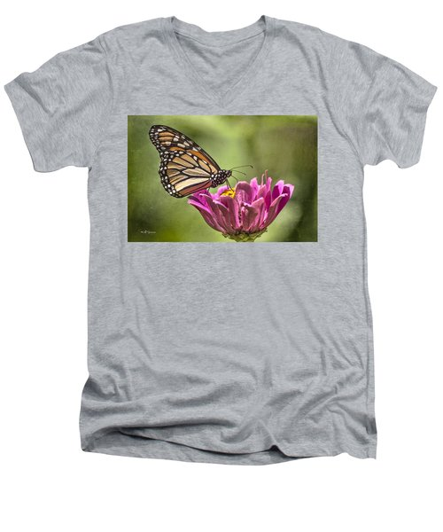 Stained Glass Wings Men's V-Neck T-Shirt