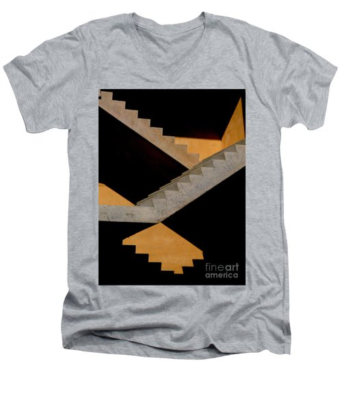 Staircase Men's V-Neck T-Shirt
