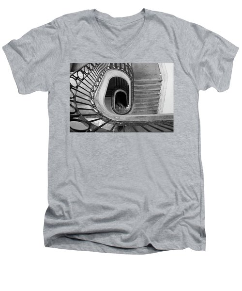 Staircase Spot On  Men's V-Neck T-Shirt