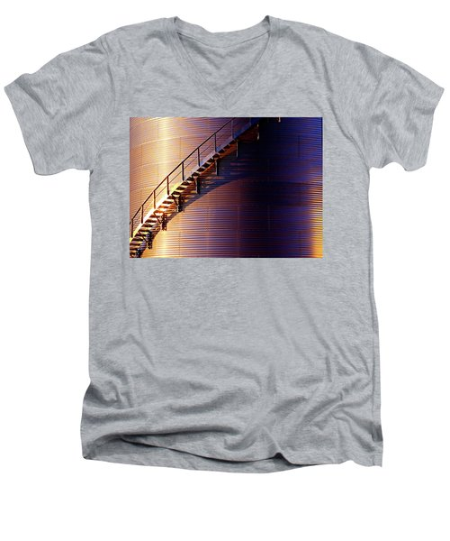 Stairway Abstraction Men's V-Neck T-Shirt