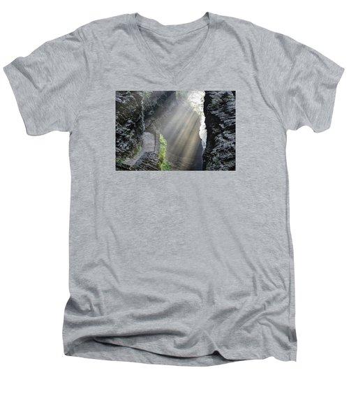 Stairway Into The Light Men's V-Neck T-Shirt