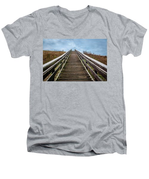 Stairway To The Sky Men's V-Neck T-Shirt