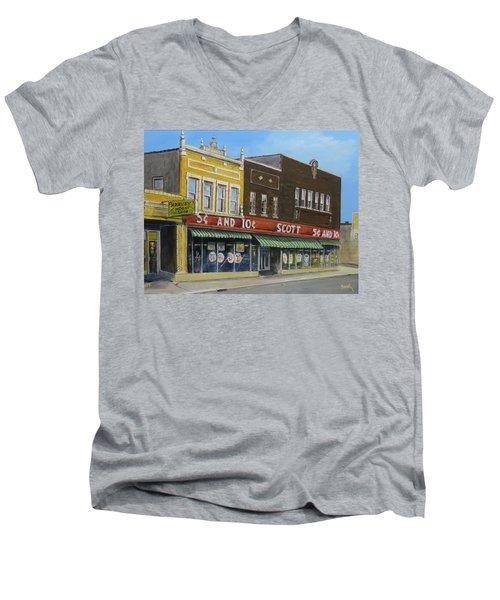 Stand Again Men's V-Neck T-Shirt