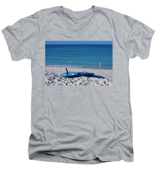 Stand Up Paddle Board Men's V-Neck T-Shirt
