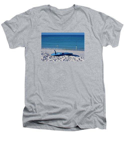 Stand Up Paddle Board Men's V-Neck T-Shirt