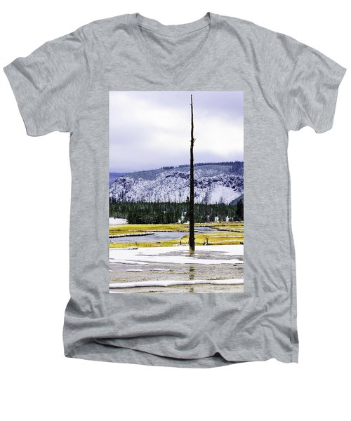 Standing Alone Men's V-Neck T-Shirt