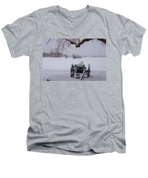 Standing Guard Men's V-Neck T-Shirt