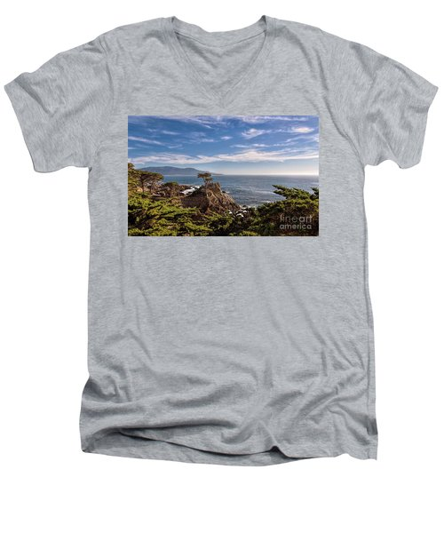 Standing Watch Men's V-Neck T-Shirt by Gina Savage
