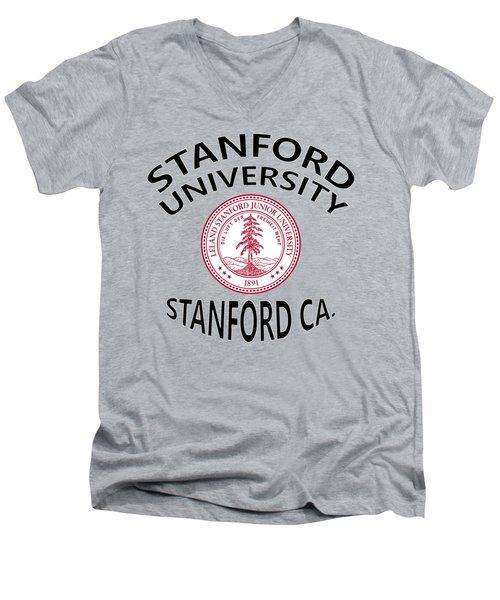 Stanford University Stanford California  Men's V-Neck T-Shirt
