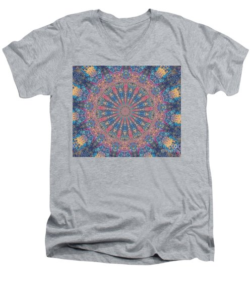 Men's V-Neck T-Shirt featuring the photograph Star Constellations by Shirley Moravec