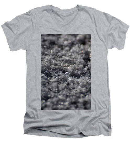 Star Crystal Men's V-Neck T-Shirt by Jason Coward