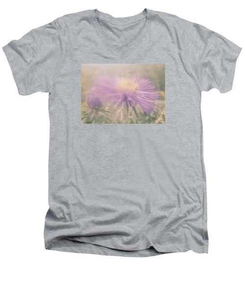 Star Mist Men's V-Neck T-Shirt by Tim Good