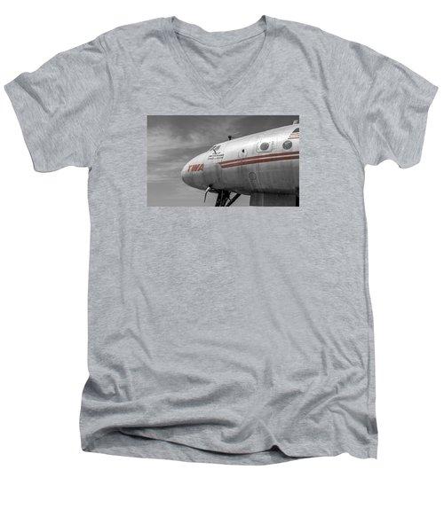 Star Of Switzerland Men's V-Neck T-Shirt