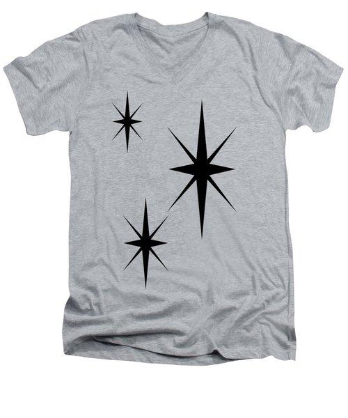 Starburst 1 Trio  Men's V-Neck T-Shirt