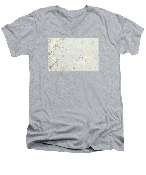 Starfish.... Men's V-Neck T-Shirt