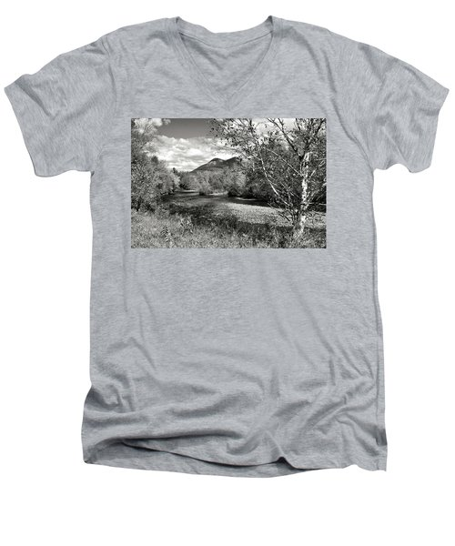 Stark, Nh Back Road  Men's V-Neck T-Shirt