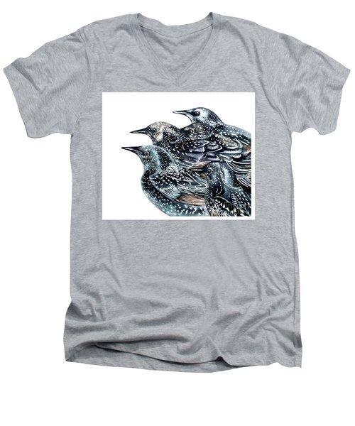 Starlings Men's V-Neck T-Shirt