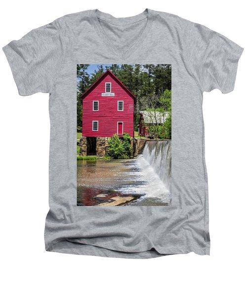 Starr's Mill 1 Men's V-Neck T-Shirt